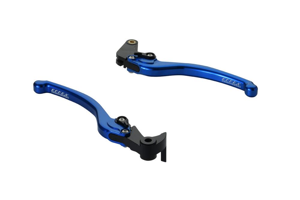 スムースフィットレバー ブルー EFFEX(エフェックス) YZF-R6(17~18年)