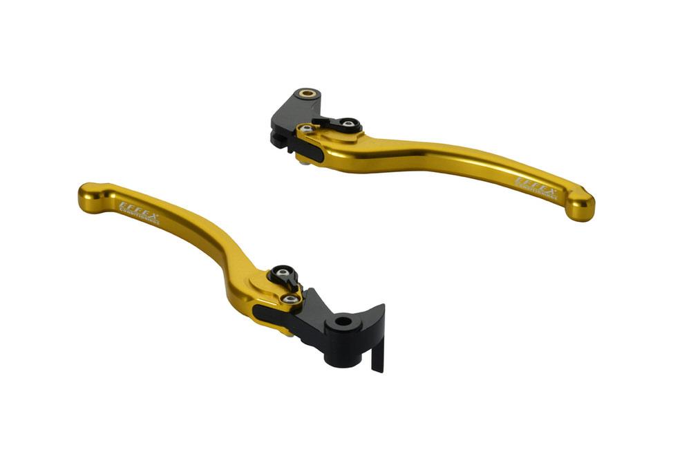 スムースフィットレバー ゴールド EFFEX(エフェックス) YZF-R6(17~18年)