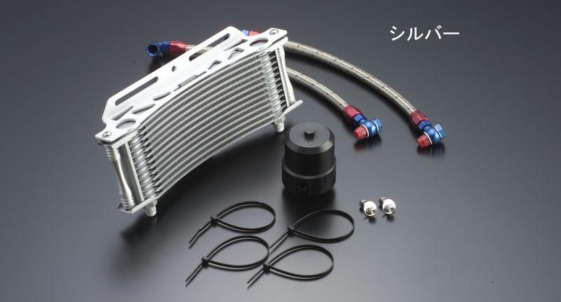 ビッグラジエーター専用 ラウンドオイルクーラーキット #6 9-13R ブラック仕様 EARL'S(アールズ) V-MAX1200(96~08年)