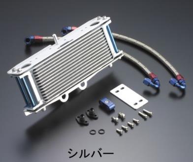 オイルクーラーキット ストレート シルバー EARL'S(アールズ) W650(99~08年)