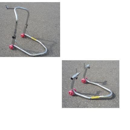 ミニバイクスタンドFRセットダブルキャスターVフックアーム ミニバイク用 エトスデザイン(ETHOS design)