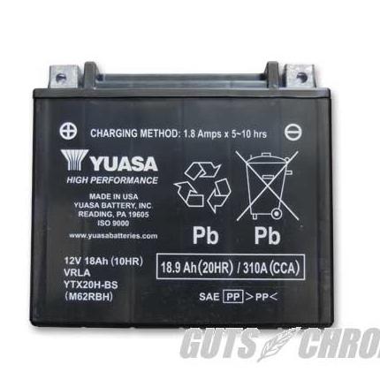 【限定価格セール!】 YTX20H-BS YUASA ユアサバッテリー(メンテナンスフリー)96991-82B互換 YTX20H-BS YUASA USA, サングラスshop メガネのまつい:7e99d0fb --- hortafacil.dominiotemporario.com