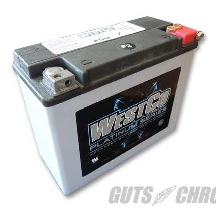PLATINUMシリーズ(AGMバッテリー)純正66010-82B互換 WCP18 WESTCO(ウエストコ)