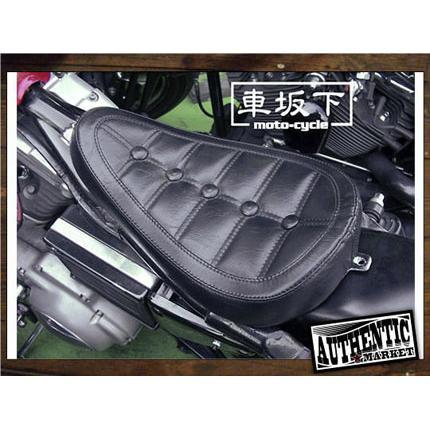 82-03年XL用シングルシートボタンステッチ 車坂下moto-cycle