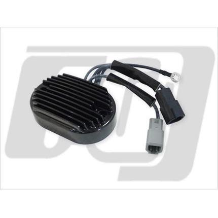 レギュレーター07ソフテイルモデル用 黒 GUTS CHROME(ガッツクローム)