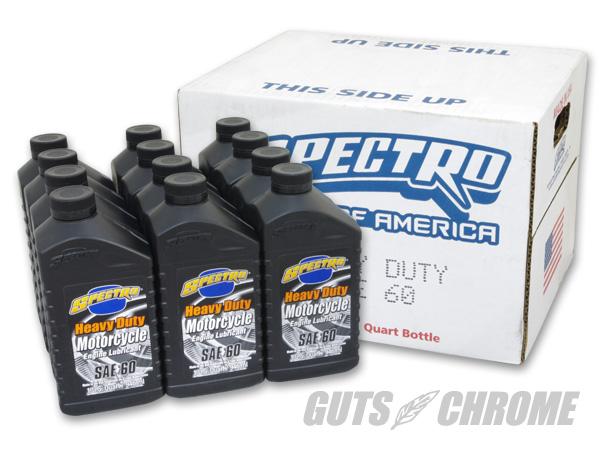 ヘビーデューティオイル シングル60(1ケース売り) SPECTRO(スペクトロ)