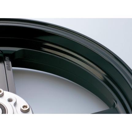 TYPE-R(アルミニウム)鍛造ホイール ブラックメタリック F350-17 GALE SPEED(ゲイルスピード) GSR750 '11