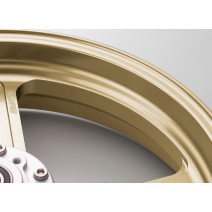 TYPE-R(アルミニウム)鍛造ホイール ゴールド F350-17 GALE SPEED(ゲイルスピード) GSF1200 96~'99(国内・ABS不可)
