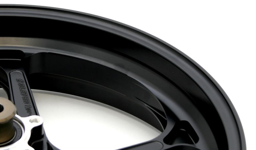 TYPE-GP1S(アルミニウム)鍛造ホイール 半ツヤブラック(ガラスコーティング) R550-17 GALE SPEED(ゲイルスピード) MT-09 TRACER(ABS)