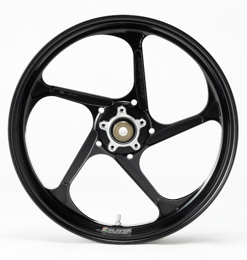 Type-GP1S アルミニウム鍛造ホイール 半ツヤブラック ガラスコーティング仕様 4.00-17 リア用 GALE SPEED(ゲイルスピード) Ninja250SL(ニンジャ)ABS可 15年