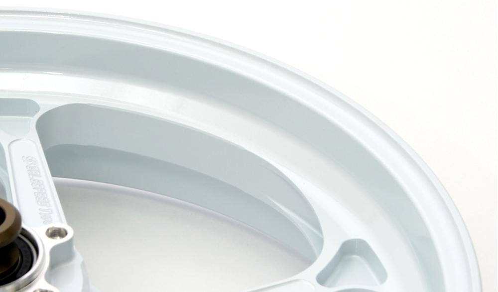 Type-GP1SM マグネシウム鍛造ホイール ホワイト Gコート仕様 6.00-17 リア用 GALE SPEED(ゲイルスピード) BMW S1000RR(10~15年)/HP4(12~14年)