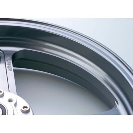 TYPE-M(マグネシウム)鍛造ホイール ガンメタリック R600-17 GALE SPEED(ゲイルスピード) ZZR1400 '06~'11(ABS可)