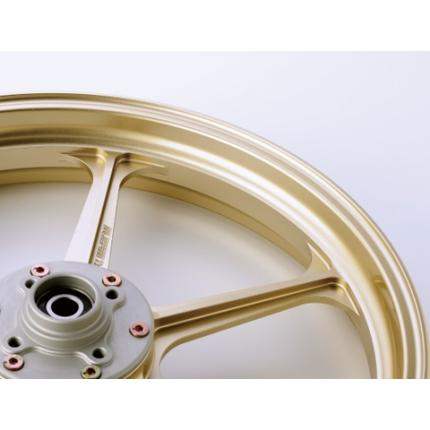 TYPE-N(アルミニウム)鍛造ホイール ゴールド R600-17 GALE SPEED(ゲイルスピード) XJR1300 99~'00(逆車)