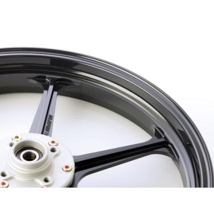 TYPE-N(アルミニウム)鍛造ホイール ブラックメタリック R550-17 GALE SPEED(ゲイルスピード) GSF1200 96~'99(国内・ABS不可)