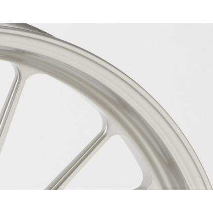 TYPE-S(アルミニウム)鍛造ホイール パールホワイト F350-17 GALE SPEED(ゲイルスピード) CBR600RR '07~'11(ABS可)