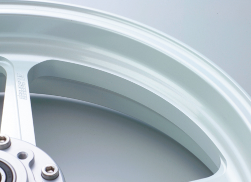 ゼファーχ(ZEPHYR)96年 アルミニウム鍛造ホイール TYPE-R フロント用 3.50-17 パールホワイト GALE SPEED(ゲイルスピード)