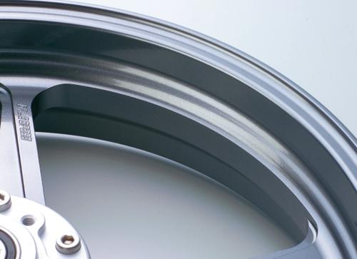 マグネシウム鍛造ホイール TYPE-M 350-17 フロント用 ガンメタリック Gコート仕様 GALE SPEED(ゲイルスピード) Z1000(10~13年)