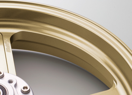 アルミニウム鍛造ホイール TYPE-N リア用 550-17 ゴールド GALE SPEED(ゲイルスピード) ZRX1200 DAEG(ダエグ)09~15年