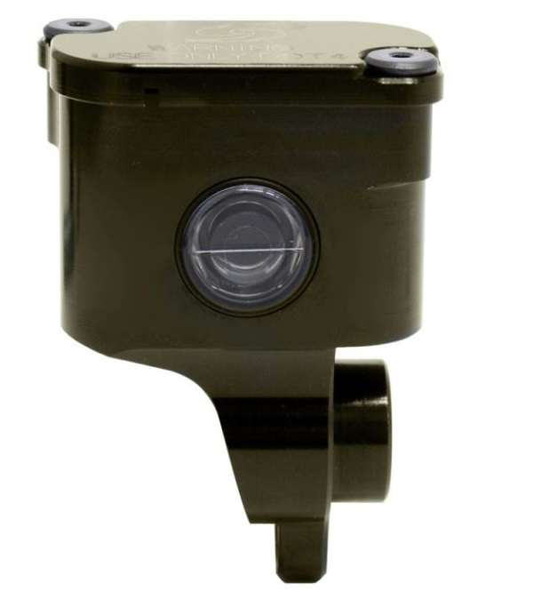 リア ブレーキマスター用 削り リザーバタンク 90°ブラウン GALE SPEED(ゲイルスピード)