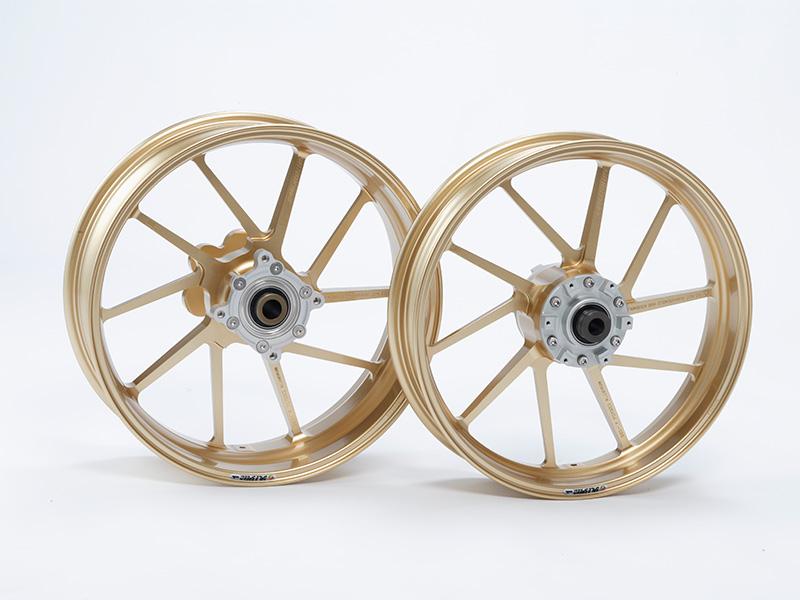 アルミ鍛造ホイール (TYPE-R) リア用 550-17 ゴールド GALE SPEED(ゲイルスピード) GS1200SS(01~03年)