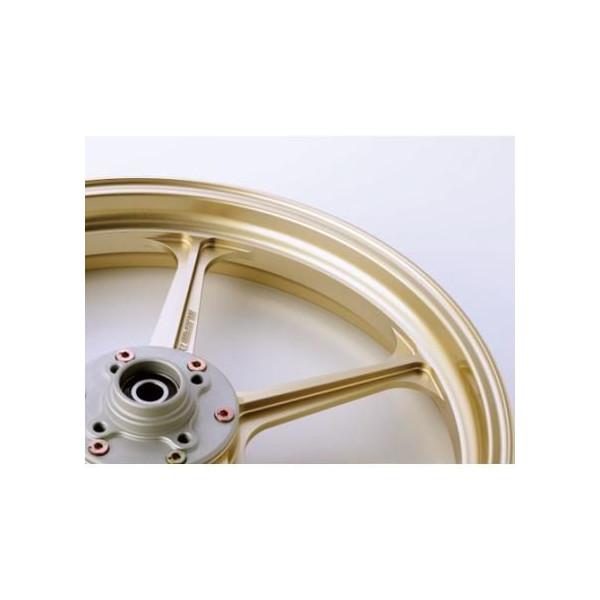 TYPE-N アルミニウム鍛造ホイール ゴールド 600-17 リア用 GALE SPEED(ゲイルスピード) Z900RS(18年)