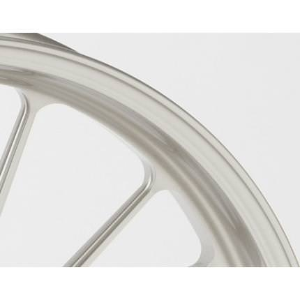 アルミニウム鍛造ホイール TYPE-S Gコート仕様 フロント用 350-17 ホワイト ガラスコーティング仕様 GALE SPEED(ゲイルスピード) CB1100RS