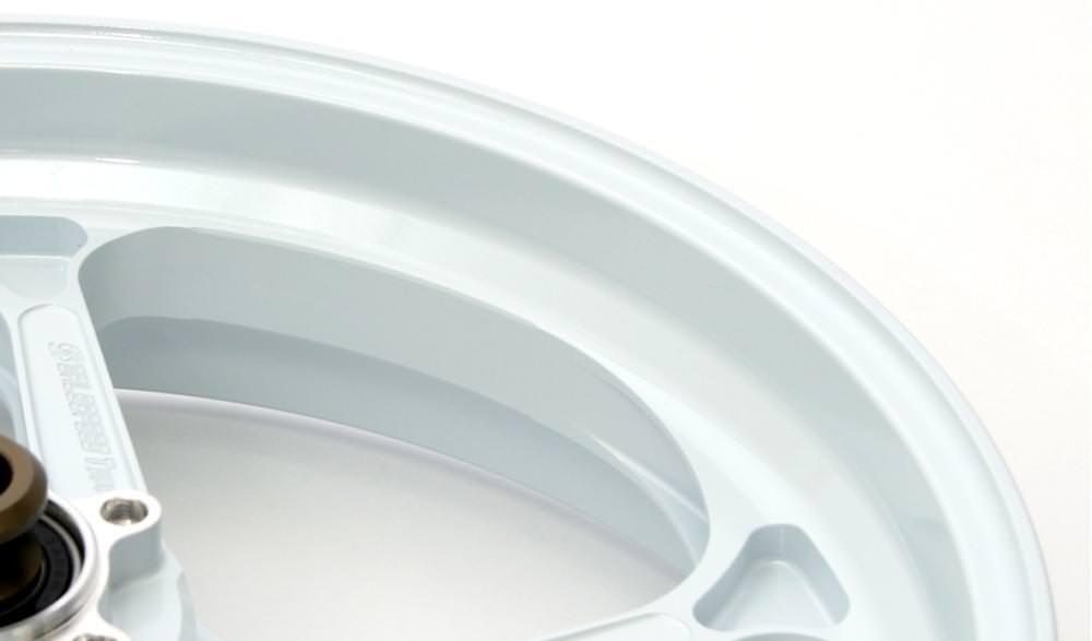 マグネシウム鍛造ホイール TYPE-GP1SM Gコート リア用 600-17 ホワイト ガラスコーティング仕様 GALE SPEED(ゲイルスピード) CB1100RS