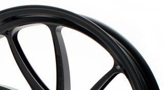アルミ鍛造ホイール TYPE-SB1 Gコート フロント用 3.50-17 半ツヤブラック GALE SPEED(ゲイルスピード) CBR1100XX(97~98年)