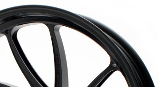 アルミ鍛造ホイール TYPE-SB1 フロント用 3.50-17 半ツヤブラック GALE SPEED(ゲイルスピード) CBR1000RR(ABS)17年