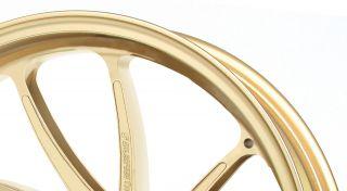 アルミ鍛造ホイール TYPE-SB1 Gコート フロント用 3.50-17 ゴールド GALE SPEED(ゲイルスピード) X-4 LD(00~03年)