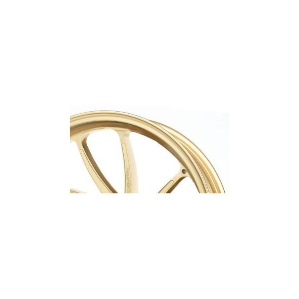 TYPE-SB1 アルミニウム鍛造ホイール ゴールド Gコート仕様 600-17 リア用 GALE SPEED(ゲイルスピード) Z900RS(18年)