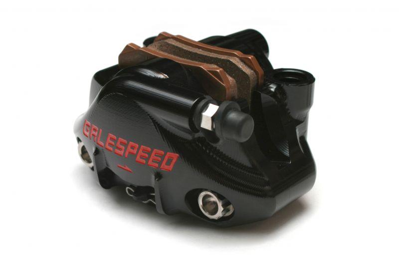 エラボレート リアキャリパー Φ34 チタンボルト仕様 ブラック GALE SPEED(ゲイルスピード)