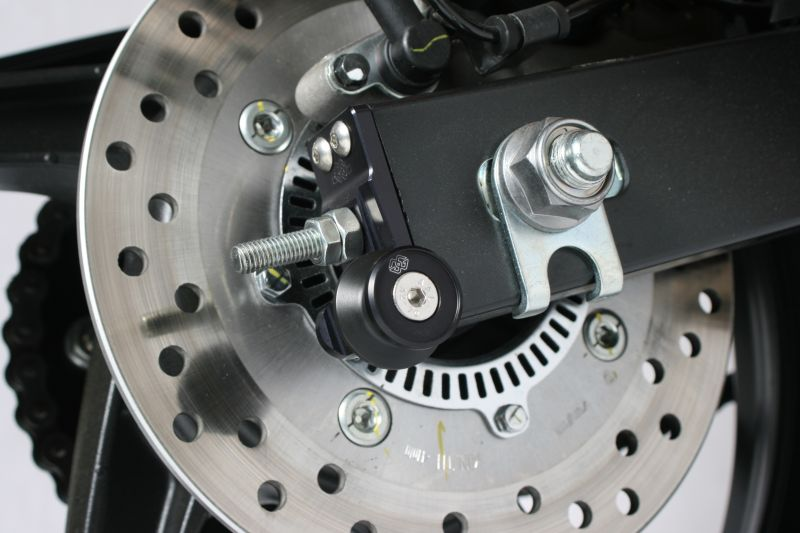 AXB アクスルブロック ブラック ギルズツーリング(GILLES TOOLING) CBR250R/(ABS)