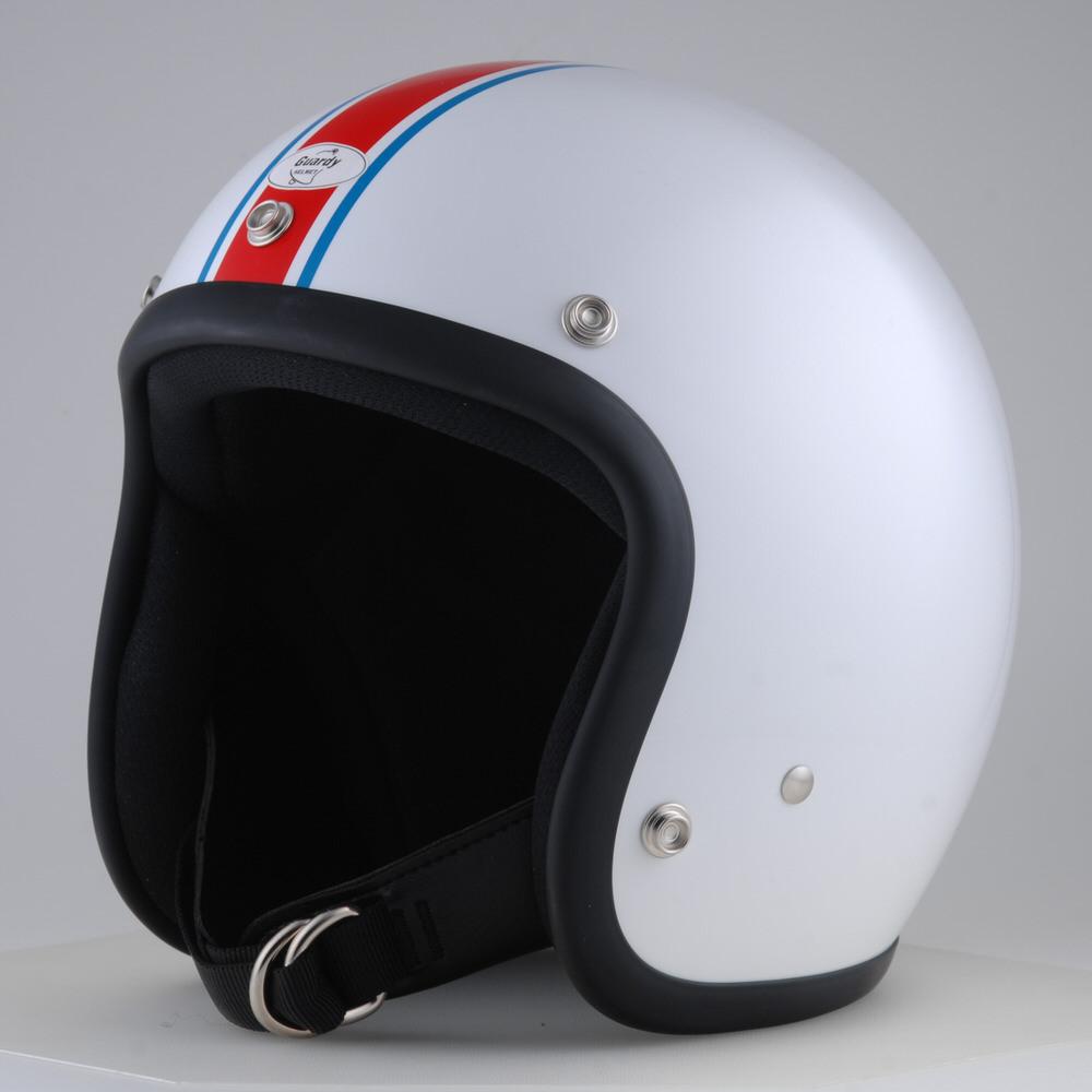 Guardy HELMET COOPER ジェットヘルメット トリコロールカラー L(59cm~60cm) Guardy(ガーディー)