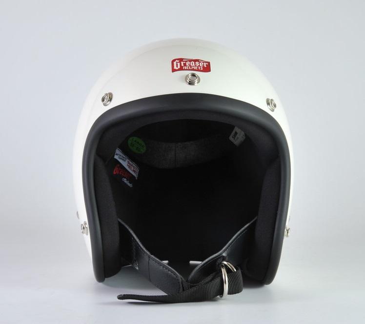 GREASER 60's PLAIN ジェットヘルメット アイボリー M(57cm~58cm) GREASER(グリーサー)