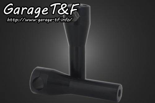 ハンドルポスト6インチ(ブラック) ガレージT&F SR400/500