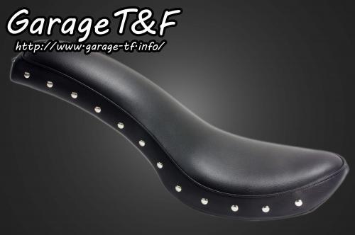 ビラーゴ250(VIRAGO) スタッド付スムースコブラシート ガレージT&F