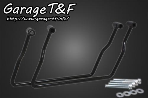 サドルバックサポート(ブラック) 純正フェンダー専用 ガレージT&F ドラッグスター1100/クラシック