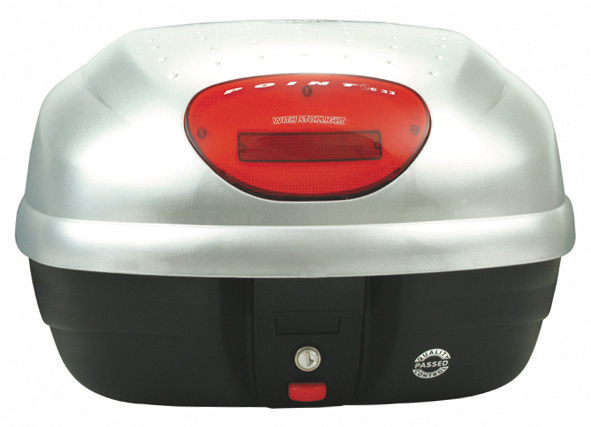 モノロックケース E33EG730 シルバー塗装 GIVI(ジビ)