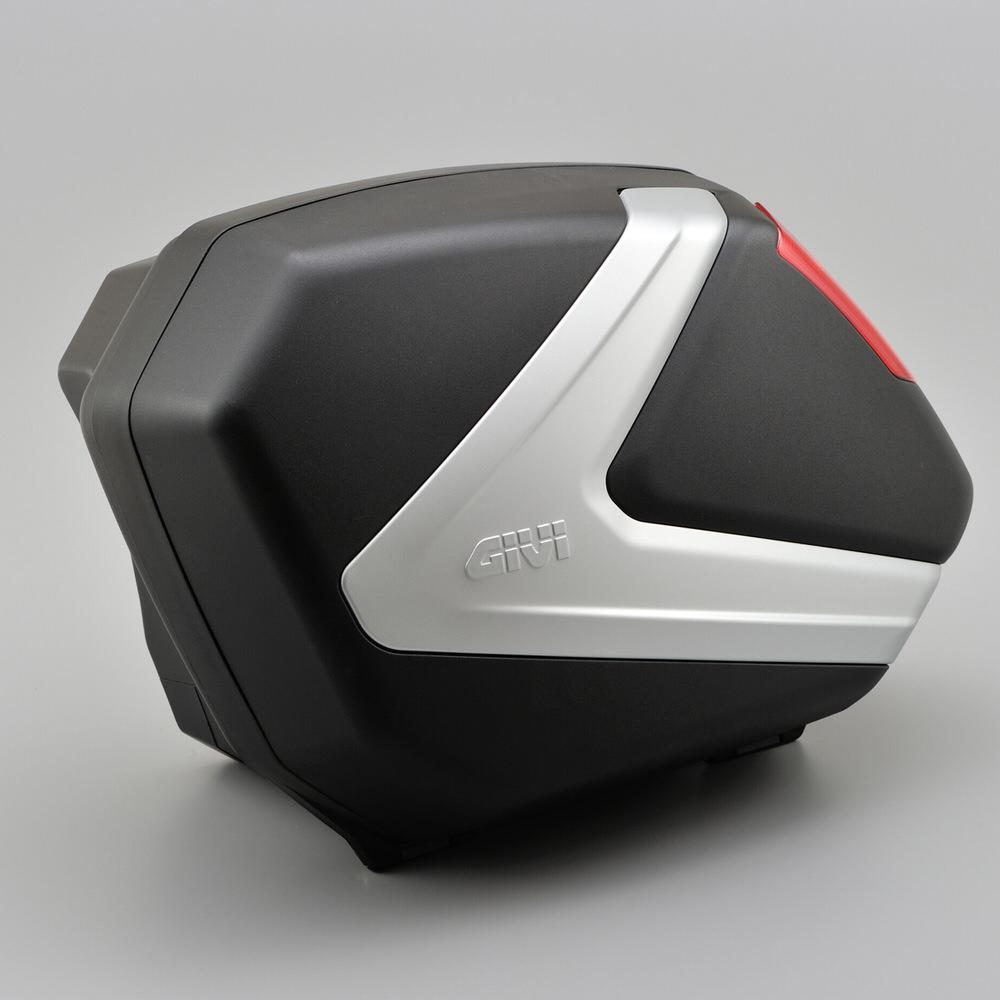 V37N サイドケース 未塗装ブラック GIVI(ジビ)