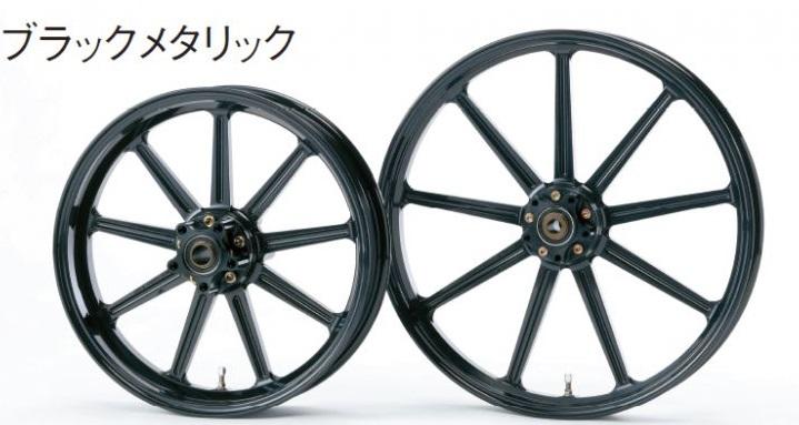 アルミニウム鍛造ホイール リア用 500-17 ブラックメタリック Gコート仕様 GLIDE(グライド) スポーツスターXL1200T スーパーロー(ABS)16年