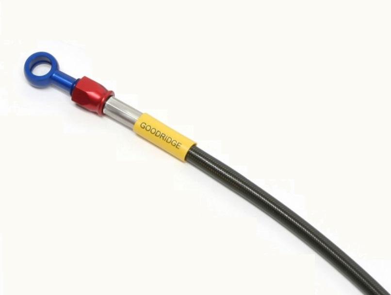 ビルドアライン ブレーキホース リア用 アルミ スモークホース GOODRIDGE(グッドリッジ) MT-09 TRACER(ABS)15~17年