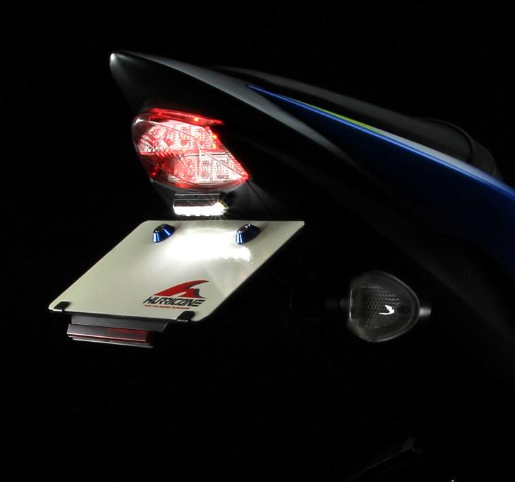 フェンダーレスキット F ブラック (LEDライセンスランプ付) HURRICANE (ハリケーン) GSX-S1000/