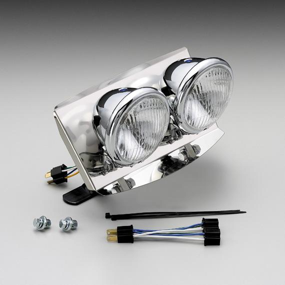 フュージョン・typeX・XX・SE デュアルヘッドライトキット 4.5インチベーツタイプ HURRICANE(ハリケーン)