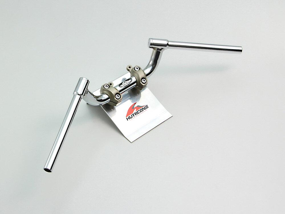 FATコンドル 専用ハンドル クロームメッキ HURRICANE(ハリケーン) GSX-S1000(15年)