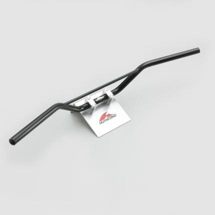 SR400(01~12年 キャブ/FI) トラッカースペシャルブラック ブリッジ付 ハンドル&ケーブルセット HURRICANE(ハリケーン)