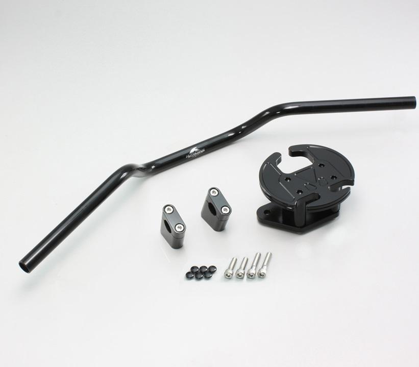TMAX530 ヨーロピアン1型 ハンドルキット ブラック HURRICANE(ハリケーン)