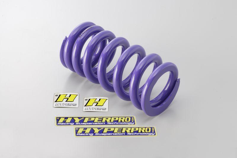 ホーネット600(HORNET)07~10年 リアスプリング ローダウン約25mm ハイパープロ(HYPER PRO)