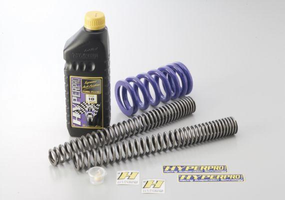 WR250R(07~16年) コンビキット フロントスプリング(22035160)/リアスプリング(22035161)ローダウンタイプ約-40mm ハイパープロ(HYPER PRO)