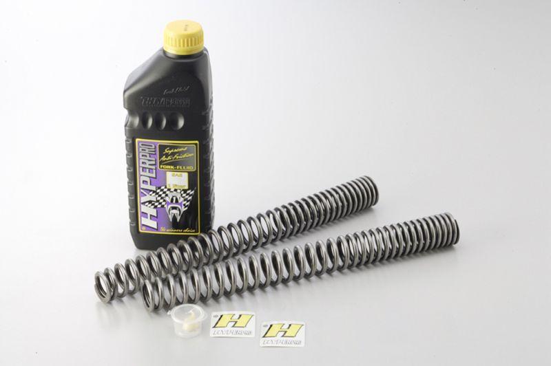 フロントスプリング (ローダウンタイプ:約-25mm) ハイパープロ(HYPER PRO) Z650/(ABS)DTC可 17年